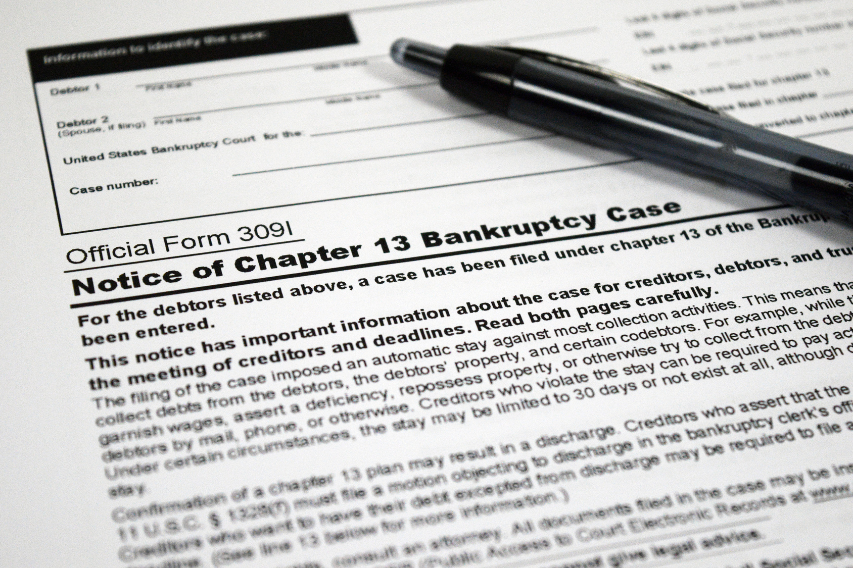 U.S. Supreme Court Upholds Viability of Chapter 13 Bankruptcy