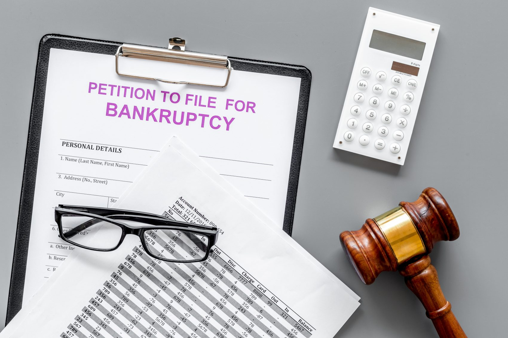 The Process of Filing for Bankruptcy in Indiana